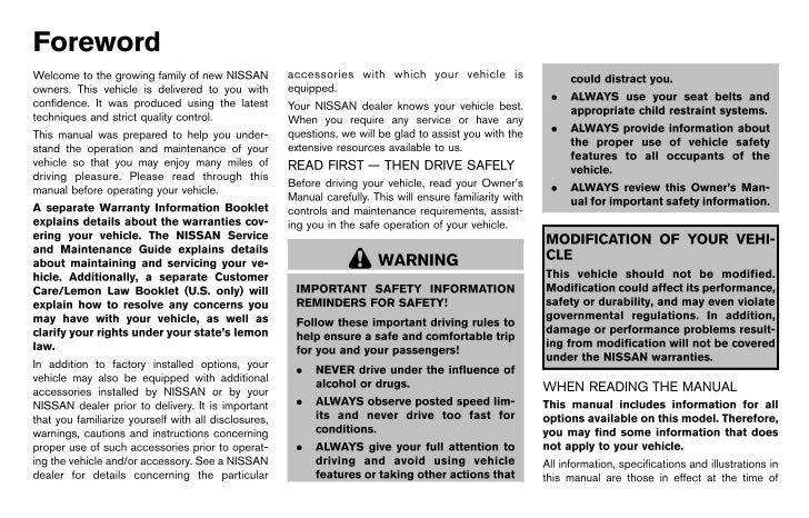 2013 370 z owner s manual rh slideshare net 2014 nissan 370z owners manual 2012 nissan 370z owners manual