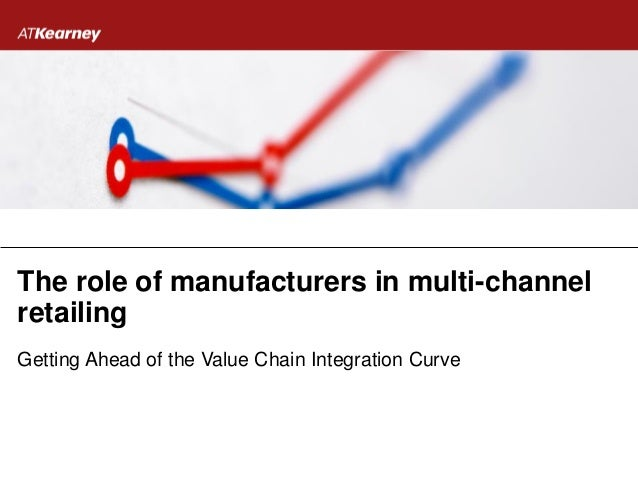 The role of manufacturers in multi-channel retailing Getting Ahead of the Value Chain Integration Curve