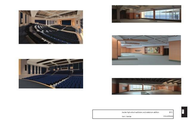 2013 becker high school auditorium and natatorium addition 2. Black Bedroom Furniture Sets. Home Design Ideas