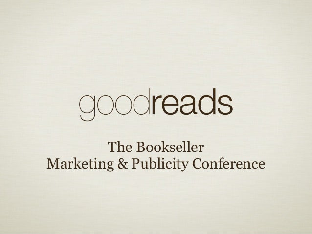 The Bookseller Marketing & Publicity Conference