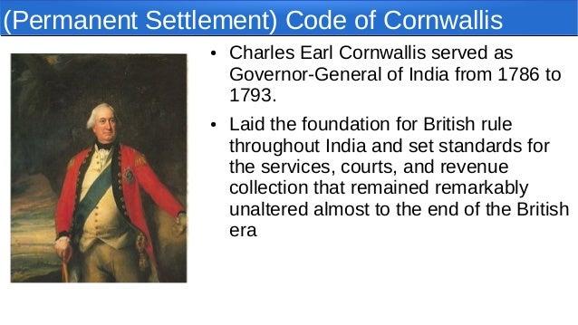 lord cornwallis definition
