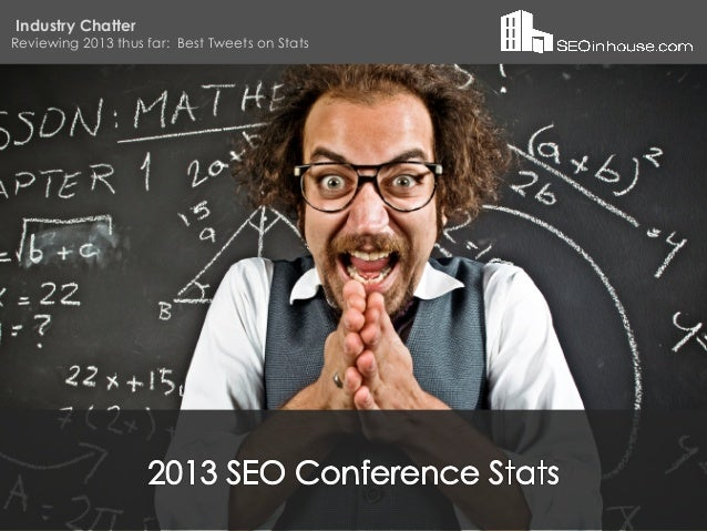 Industry Chatter Reviewing 2013 thus far: Best Tweets on Stats Do you ever wonder how others succeed where you struggle? G...