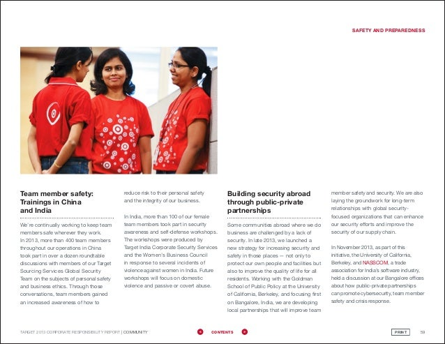 Target 2013 Corporate Responsibility Report