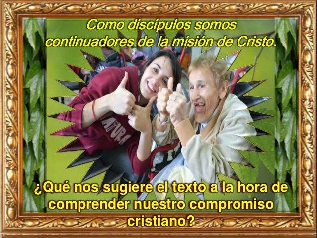 ¿Qué nos mueve en nuestro compromiso, ser discípulos de Jesús o el reconocimiento de Dios y de aquellos a quienes ayudamos?