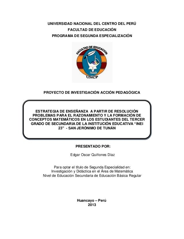 Proyecto investigacion accion for La accion educativa en el exterior