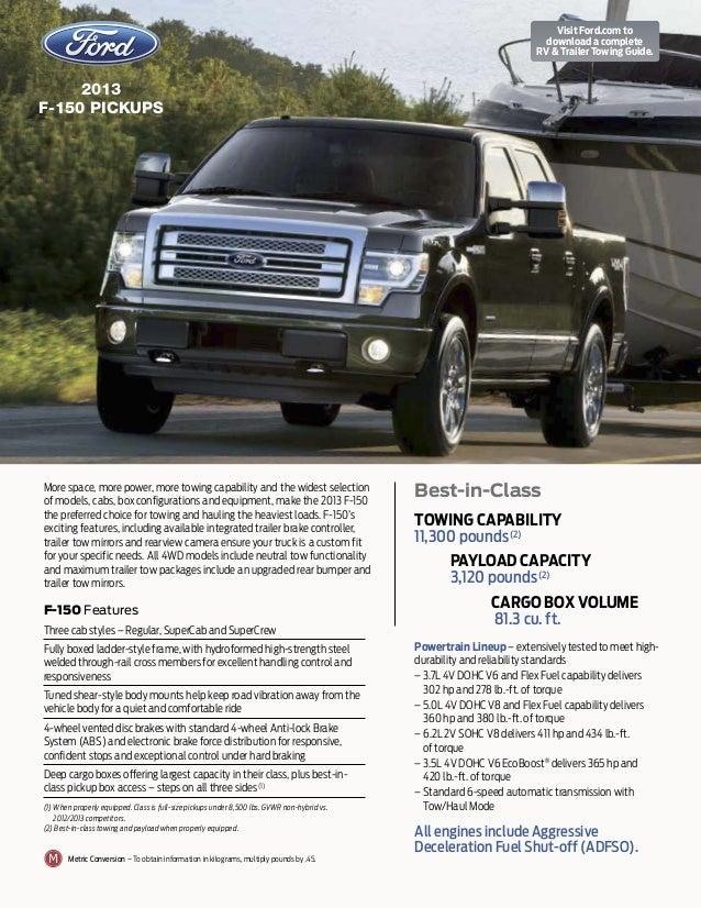 2013 ford f 150 towing guide augusta ga rh slideshare net