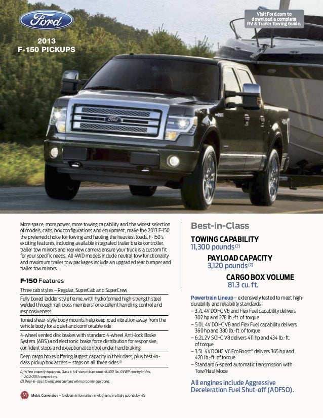 2013 ford f 150 towing guide augusta ga. Black Bedroom Furniture Sets. Home Design Ideas