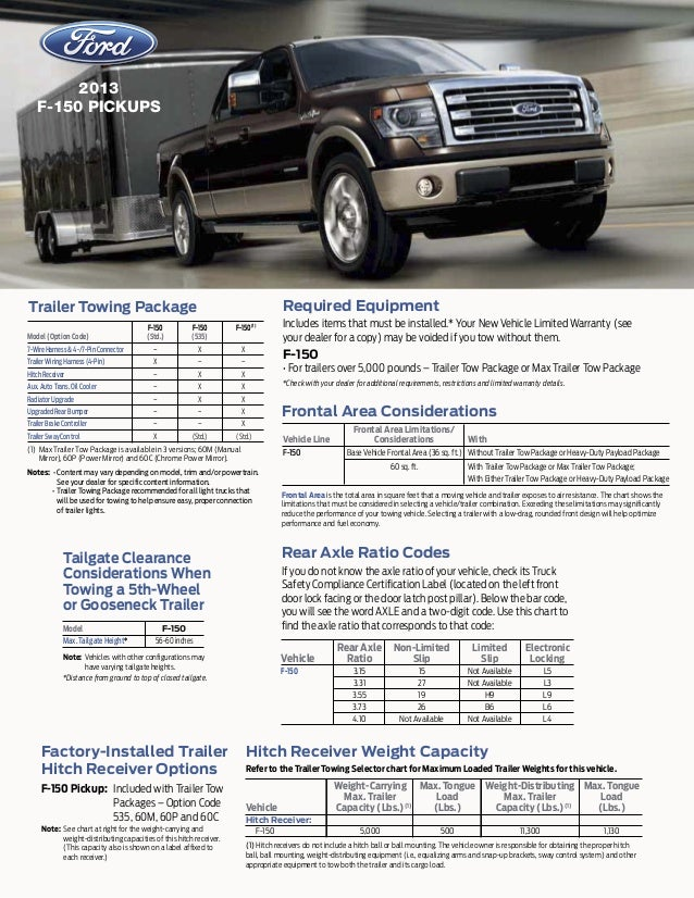 Ronnie S Towing Service 2013 Ford F150 Towing Capacity