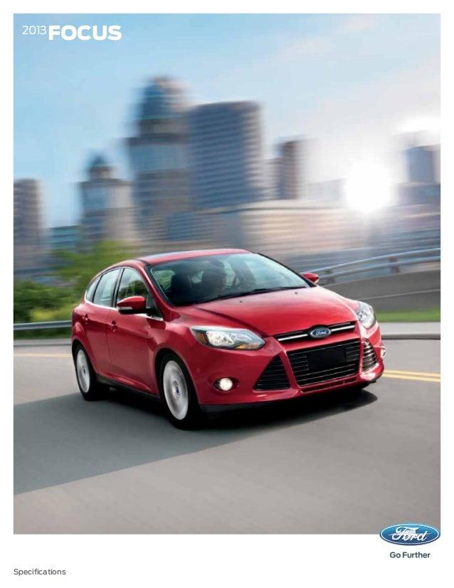 2013 Ford Focus Specs Augusta Ga