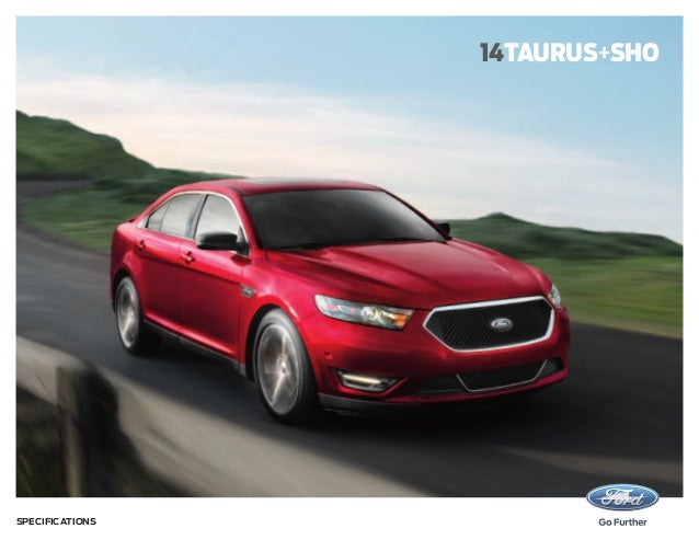 14taurus+sho  Specifications