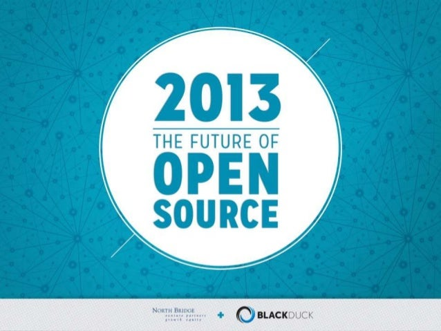 2013 - The Future of OpenSourceNorth Bridge and Black Duck logos