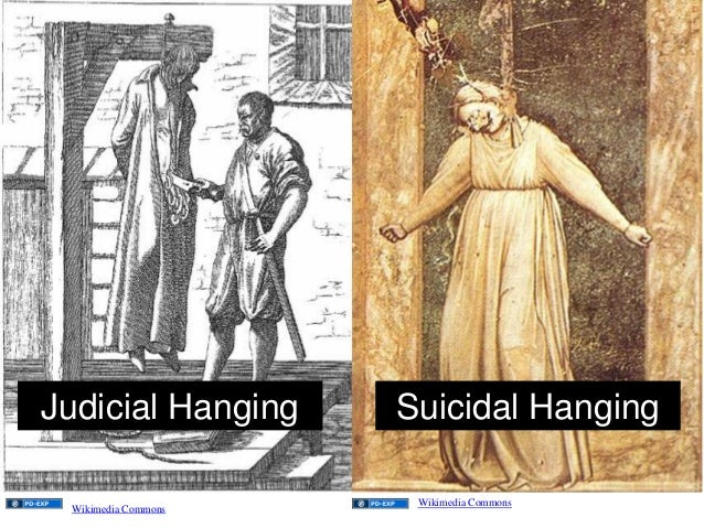 Judicial Hanging Suicidal Hanging Wikimedia Commons Wikimedia Commons