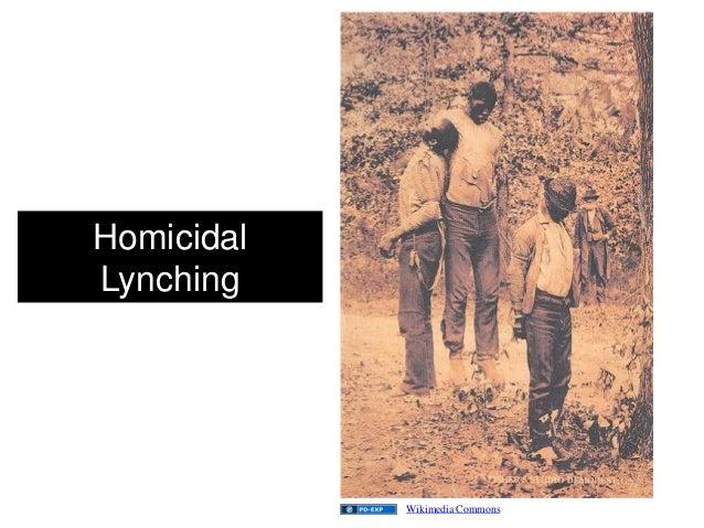 Homicidal Lynching Wikimedia Commons