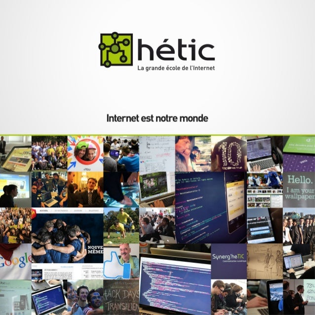 HETIC, la grande école de l'internet | rp@hetic.net | www.hetic.net   1