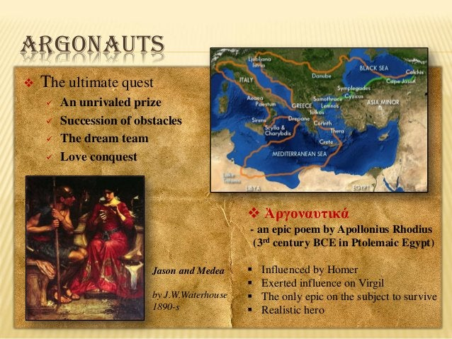 ARGONAUTS   The ultimate quest       An unrivaled prize Succession of obstacles The dream team Love conquest   Ἀργον...