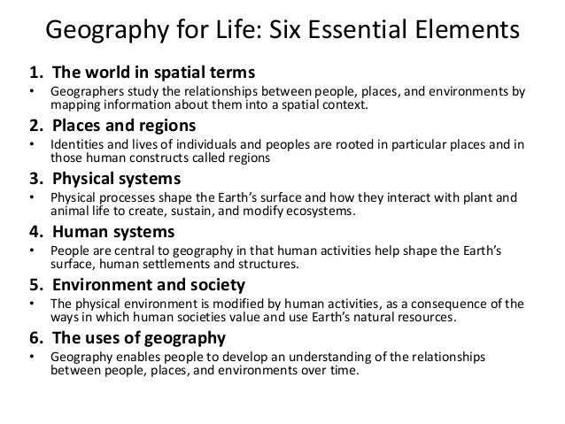 Geography and the Common Core