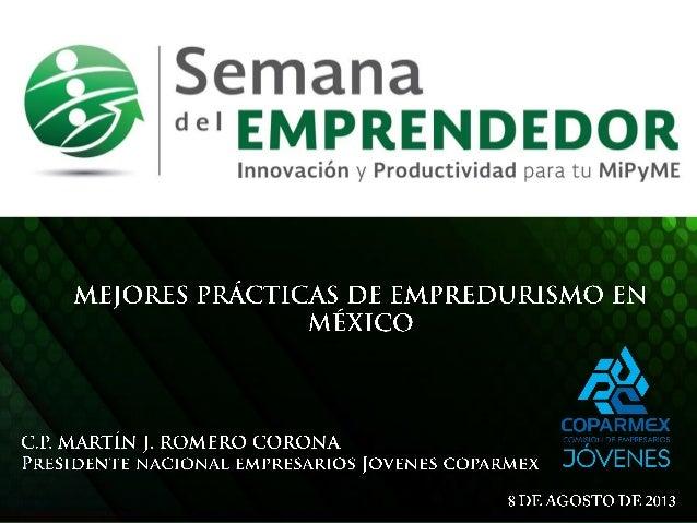 @romerocorona @soycoparmex #semanaemprendedor