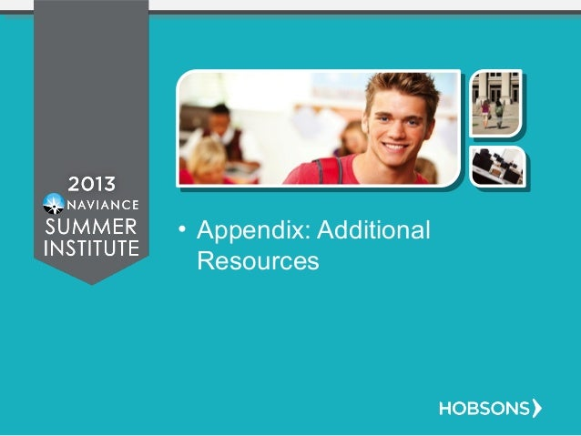 • Appendix: Additional Resources