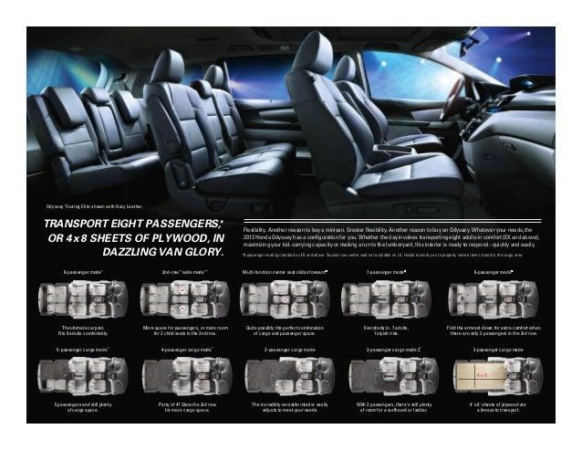 2013 Honda Odyssey Brochure