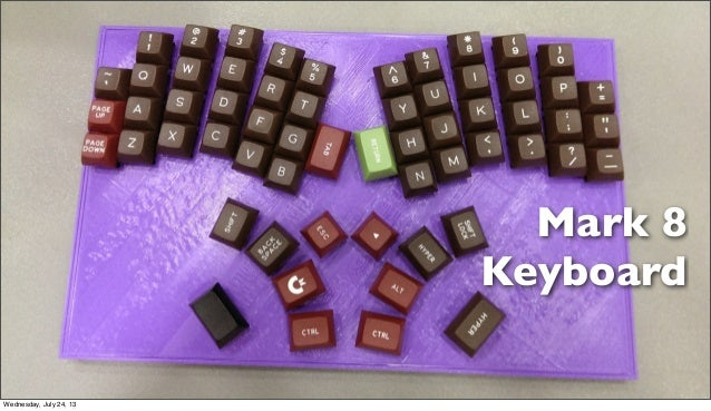 Mark 8 Keyboard Wednesday, July 24, 13