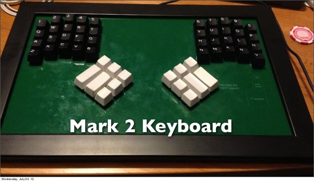 Mark 2 Keyboard Wednesday, July 24, 13