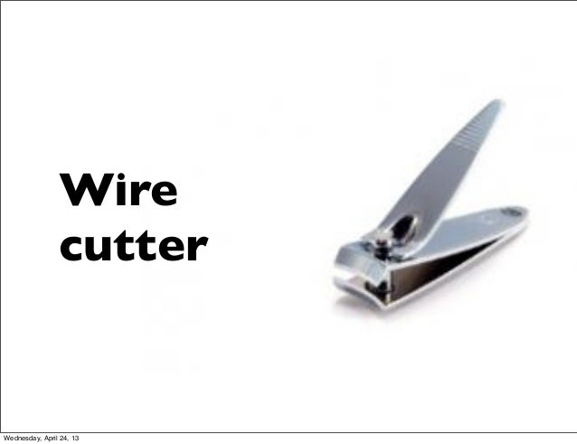 WirecutterWednesday, April 24, 13
