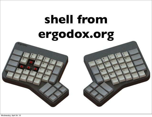 shell fromergodox.orgWednesday, April 24, 13