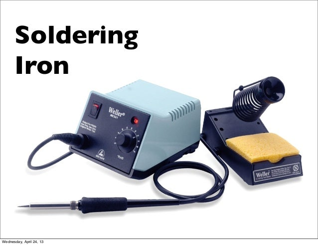 SolderingIronWednesday, April 24, 13