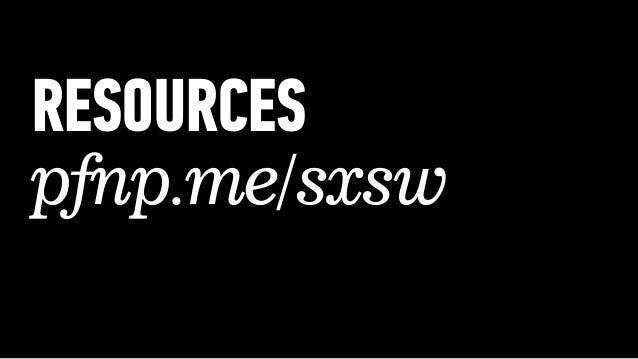 Programming For Non-Programmers @SXSW 2013 Slide 3