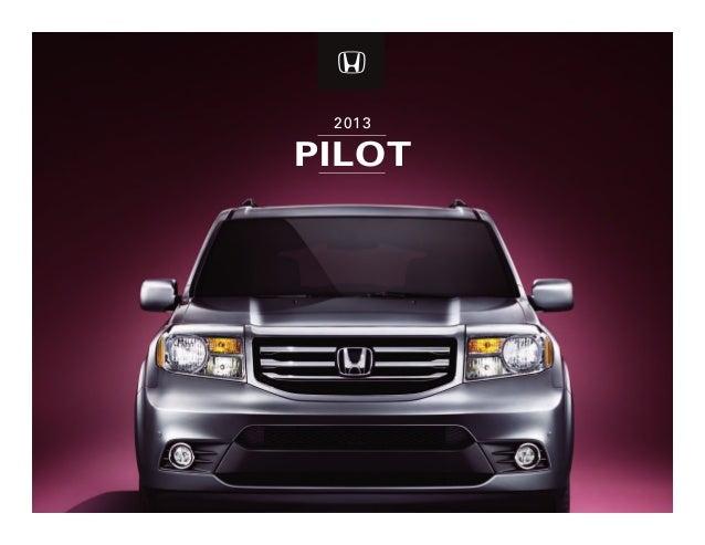 Dch Honda Temecula >> 2013 Honda Pilot Brochure Dch Honda Of Temecula