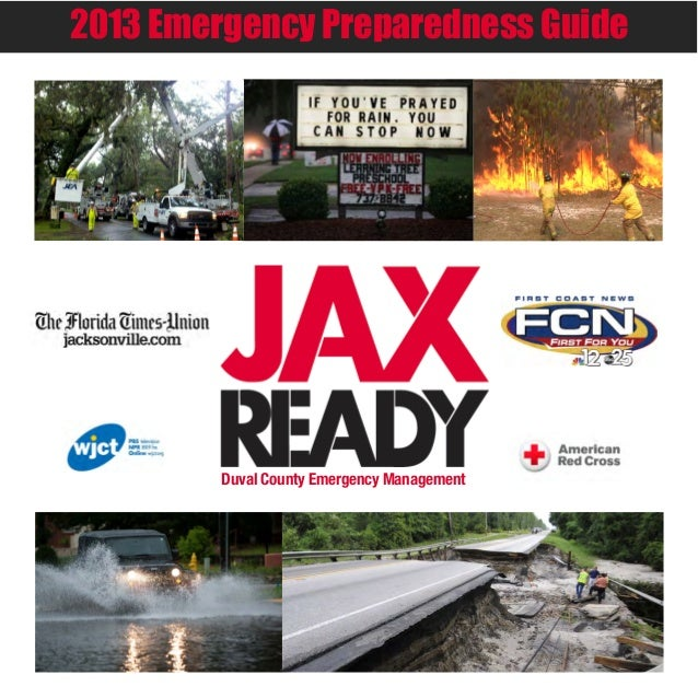 2013 Emergency Preparedness GuideDuval County Emergency Management