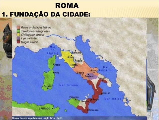 ROMA1. FUNDAÇÃO DA CIDADE: