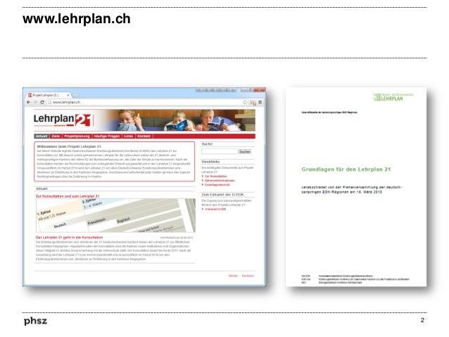 www.lehrplan.ch  2