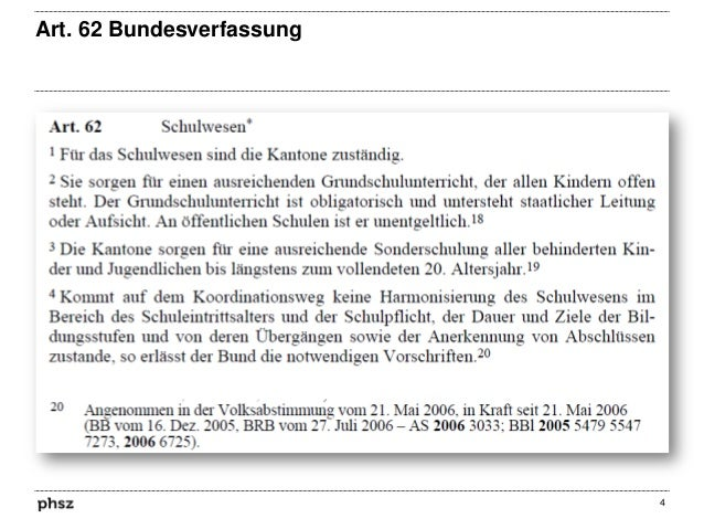 Art. 62 Bundesverfassung  4