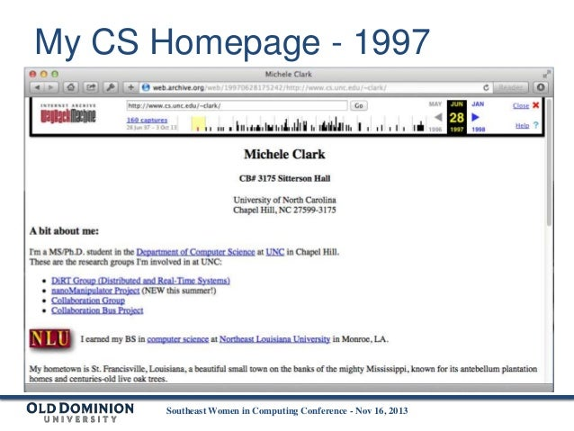 My Academic Story via Internet Archive