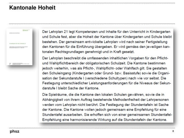 Kantonale Hoheit  8