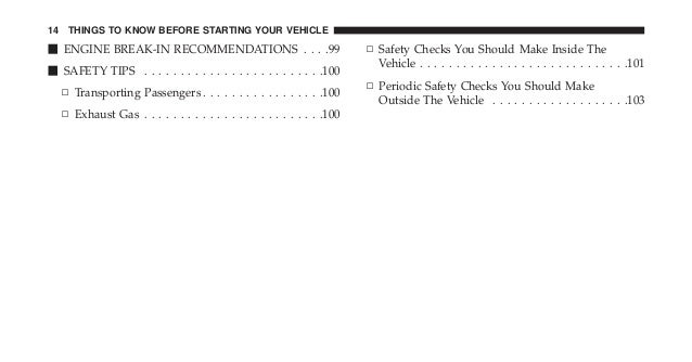 2013 jeep wrangler owners manual