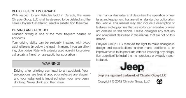 2013 wrangler owners manual upload from the jeep store rh slideshare net jeep wrangler owners manual 2013 jeep owners manual 2015 grand cherokee