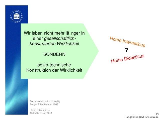 Wir leben nicht mehr lä nger in     einer gesellschaftlich-        Homo                                         Intern  ko...