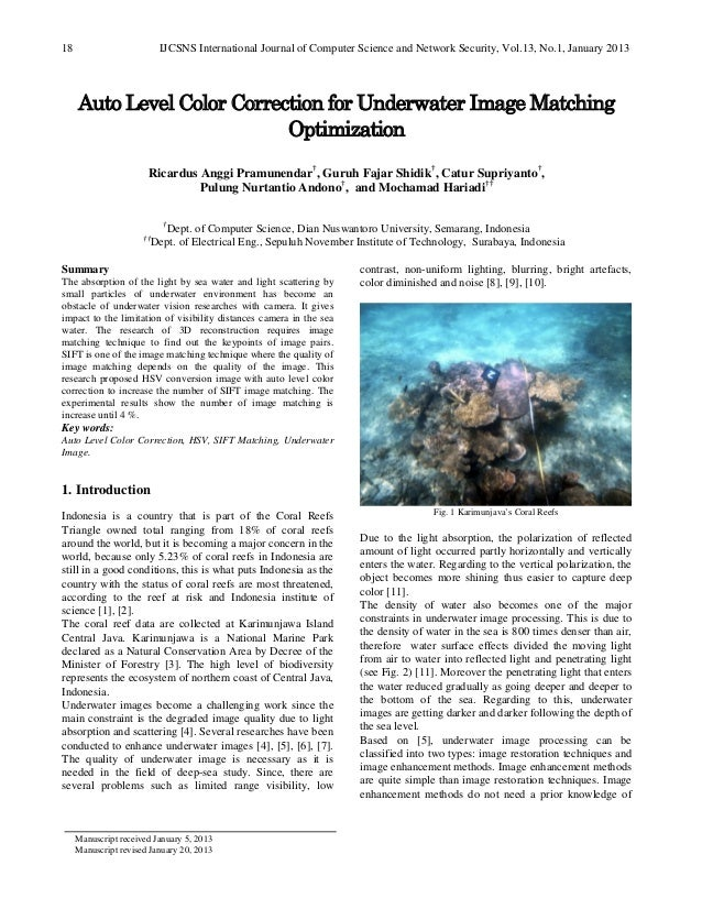 IJCSNS International Journal of Computer Science and Network Security, Vol.13, No.1, January 201318Manuscript received Jan...
