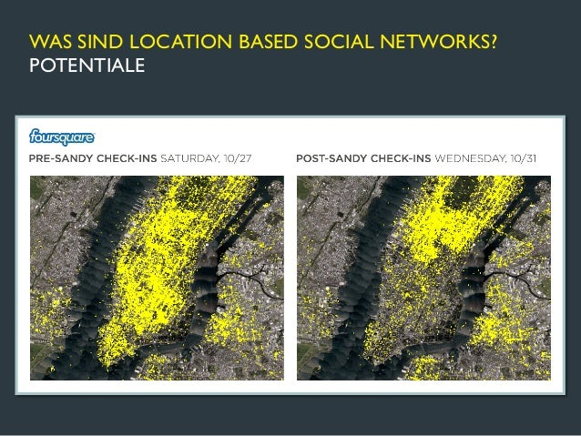 WAS SIND LOCATION BASED SOCIAL NETWORKS?POTENTIALE