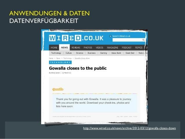 ANWENDUNGEN & DATENDATENVERFÜGBARKEIT                      http://www.zdnet.de/88128610/