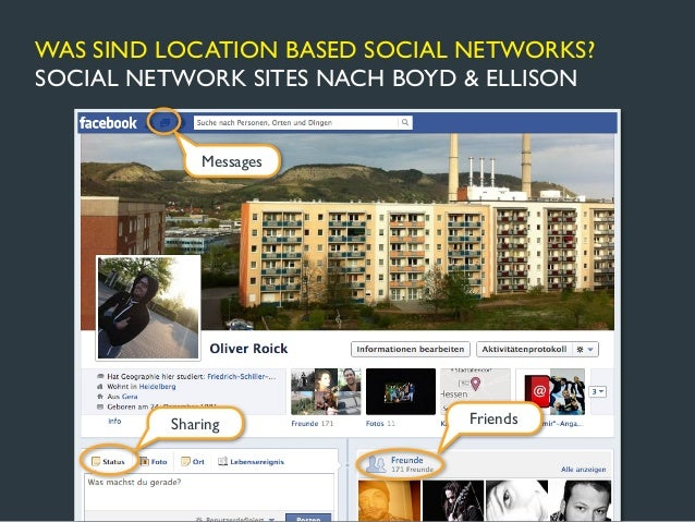 WAS SIND LOCATION BASED SOCIAL NETWORKS?GEOTAGGING