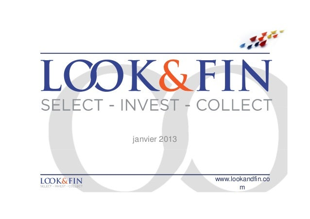 janvier 2013               www.lookandfin.co                      m