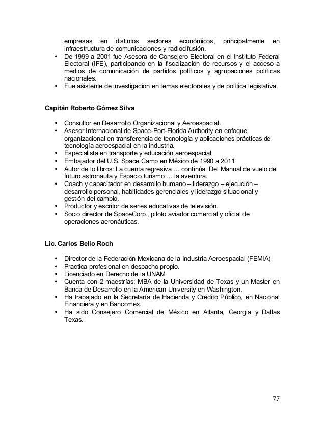 Resumen del Foro infraestructura espacial para el desarrollo de Méxic…