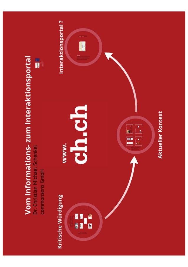 Vom Informations- zum Interaktionsportal