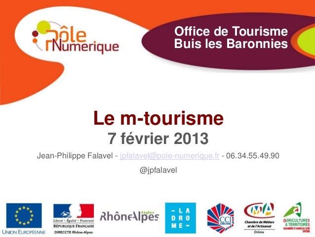 Office de Tourisme                                      Buis les Baronnies               Le m-tourisme                   7...
