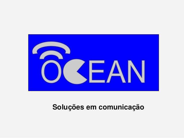 Soluções em comunicação