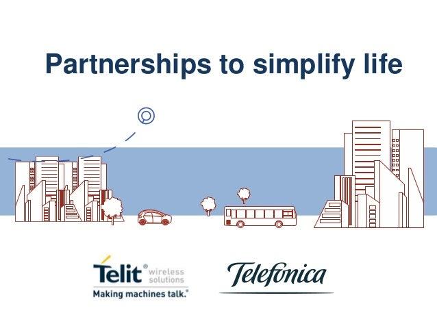 Partnerships to simplify life