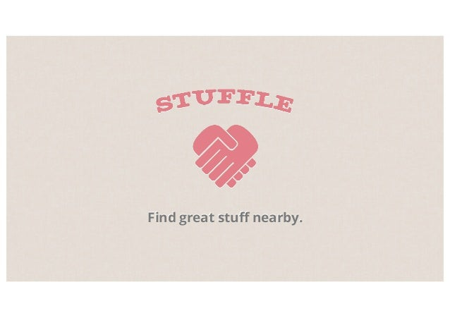 Find great stuff nearby.